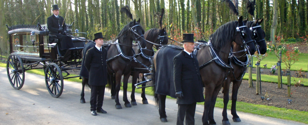 HW Masons Funeral Directors Horse Drawn Carriage