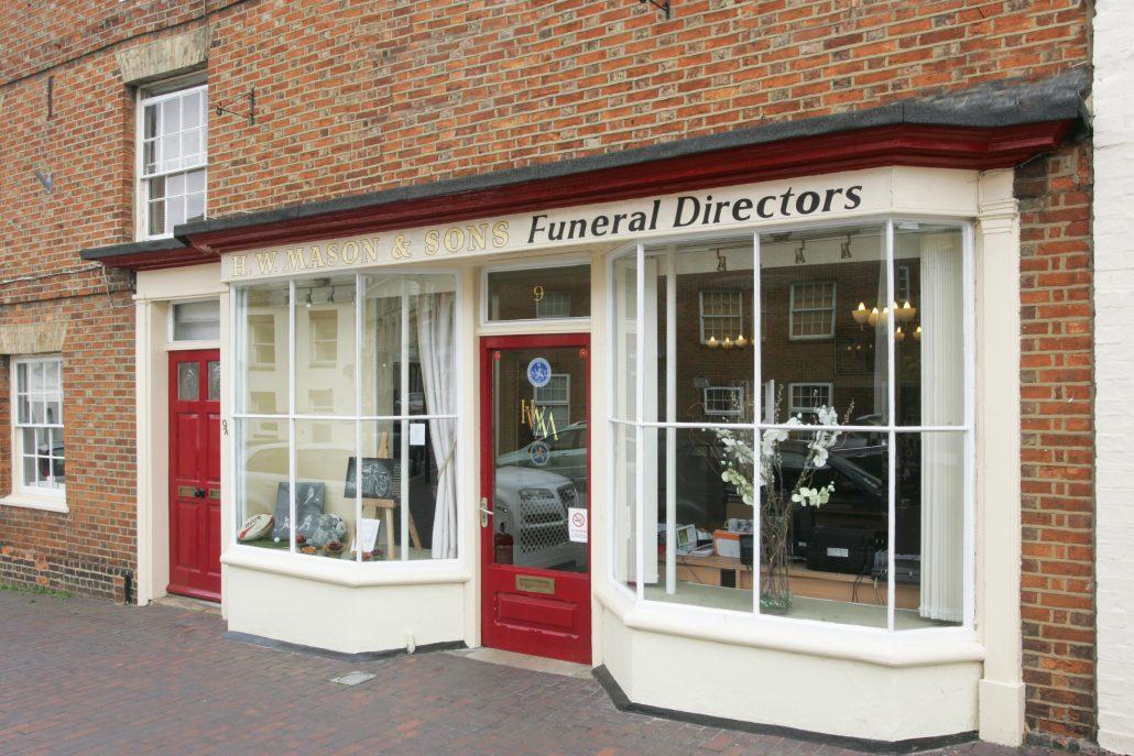 HW Masons Funeral Directors Newport Pagnell Premises