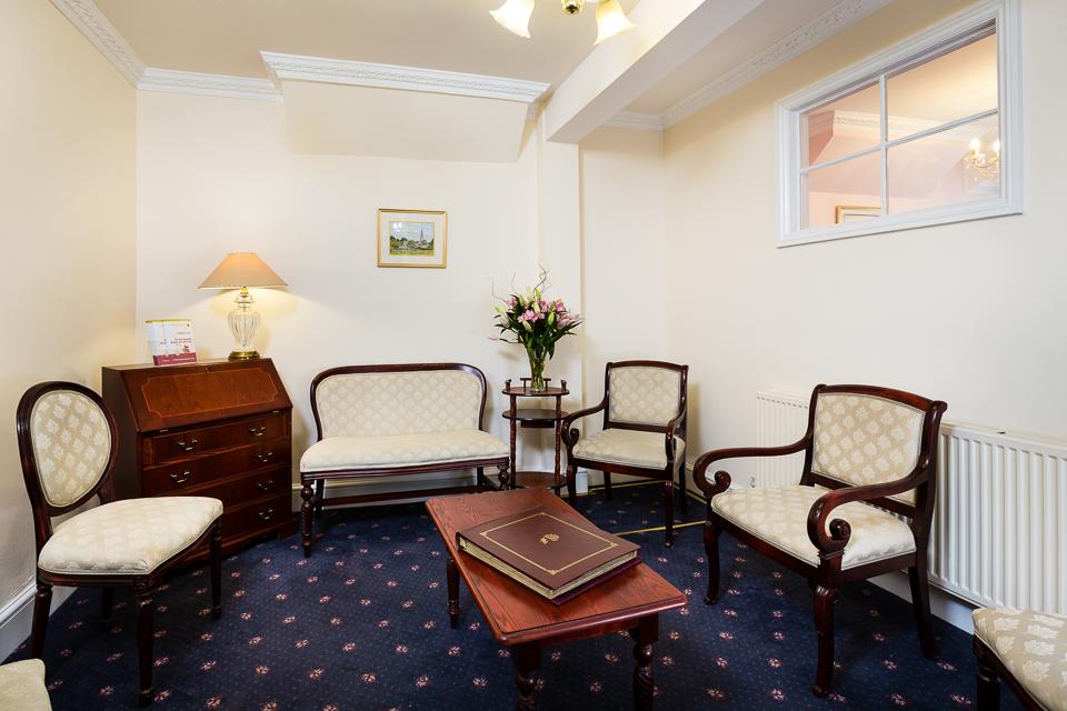 HW Masons Funeral Directors Stony Stratford Meeting Room